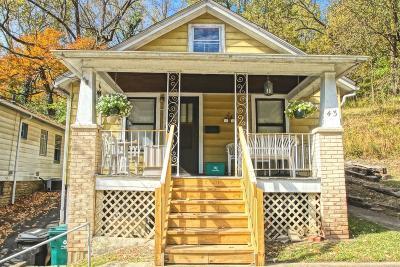 Cincinnati OH Single Family Home For Sale: $55,000