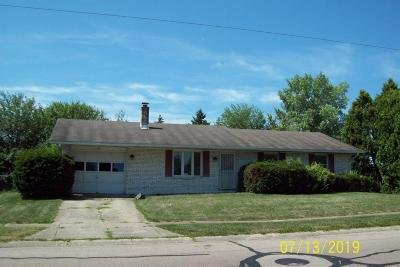Preble County Single Family Home For Sale: 309 Frizzell