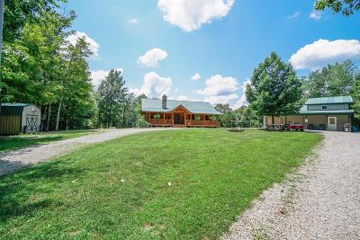 Brown County Single Family Home For Sale: 9874 Hickory Ridge Road