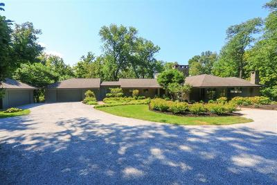 Indian Hill Single Family Home For Sale: 6075 Redbird Hollow Lane
