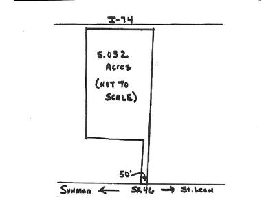 Sunman Residential Lots & Land For Sale: St Rt 46