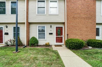 Middletown Condo/Townhouse For Sale: 4534 Shawnray Drive #96