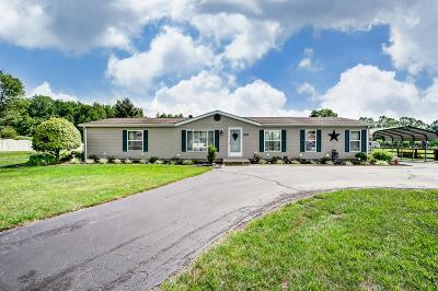 Adams County, Brown County, Clinton County, Highland County Single Family Home For Sale: 2470 Tri County Highway