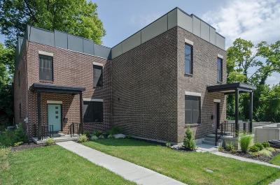 Cincinnati Condo/Townhouse For Sale: 1714 Wm H Taft Road