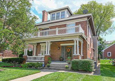 Cincinnati Single Family Home For Sale: 2867 Observatory Avenue
