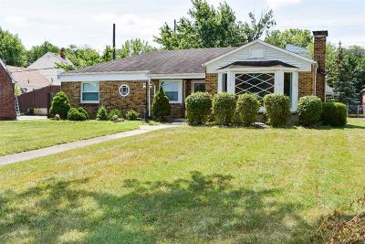 Hamilton Single Family Home For Sale: 906 Millville Avenue