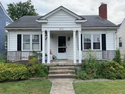 Hamilton Single Family Home For Sale: 806 Ridgelawn Avenue