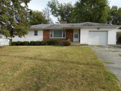 Wilmington OH Single Family Home For Sale: $149,900