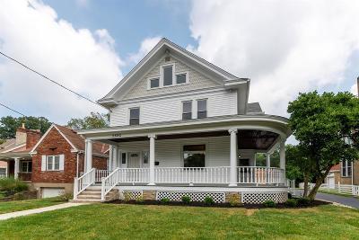 Cincinnati Single Family Home For Sale: 5632 Bramble Avenue