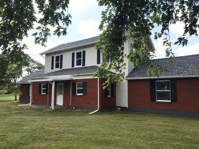 Adams County, Brown County, Clinton County, Highland County Single Family Home For Sale: 4040 St Rt 350