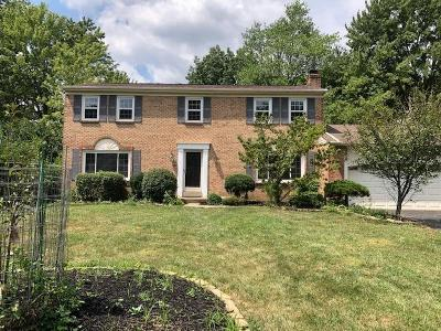 Blue Ash Single Family Home For Sale: 9689 Sycamore Trace Court