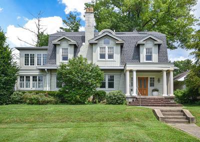 Cincinnati Single Family Home For Sale: 2936 Observatory Avenue