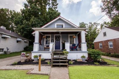 Cincinnati Single Family Home For Sale: 2021 Emerson Avenue