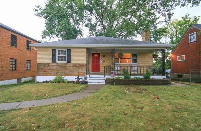 Cincinnati Single Family Home For Sale: 4412 Homelawn Avenue