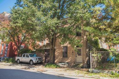 Cincinnati Single Family Home For Sale: 1306 Spring Street