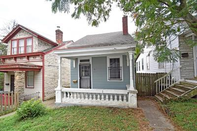 Cincinnati OH Single Family Home For Sale: $55,000
