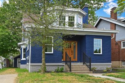 Cincinnati Single Family Home For Sale: 3631 Bellecrest Avenue