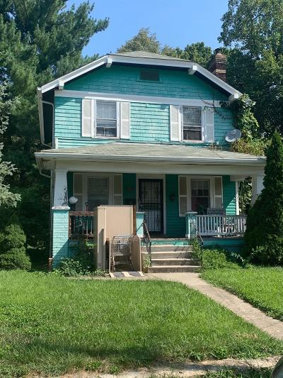 Cincinnati OH Single Family Home For Sale: $95,000