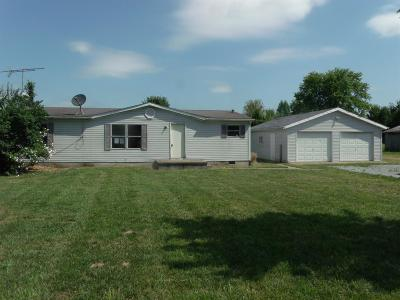 Adams County, Brown County, Clinton County, Highland County Single Family Home For Sale: 3355 Carpenter Road