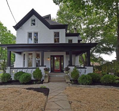 Cincinnati Single Family Home For Sale: 1336 Grace Avenue