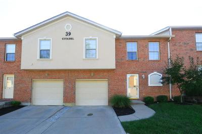 Butler County Condo/Townhouse For Sale: 39 Citadel Drive #2