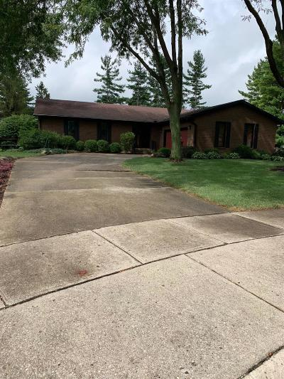 Middletown Single Family Home For Sale: 1614 Woodhall Court