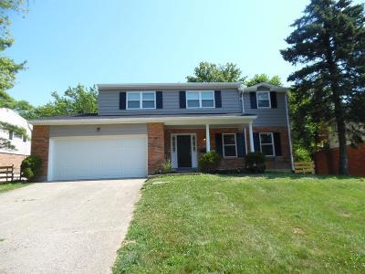 Sharonville Single Family Home For Sale: 4030 Cottingham Drive