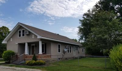 Preble County Single Family Home For Sale: 108 S State Line Road