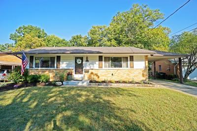 Sharonville Single Family Home For Sale: 4084 Mefford Lane