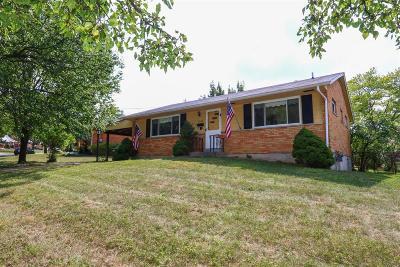 Sharonville Single Family Home For Sale: 3939 Mefford Lane