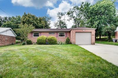 Hamilton County Single Family Home For Sale: 6239 Springmyer Drive