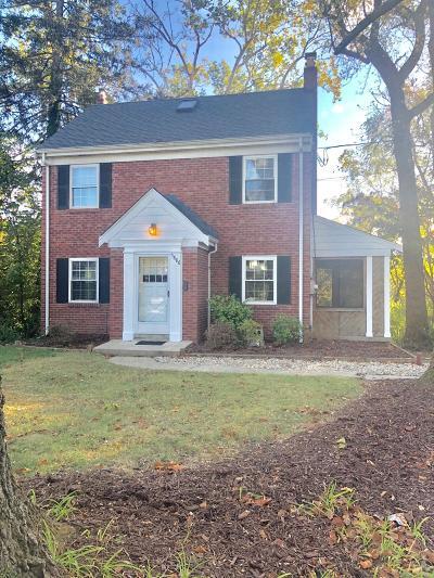 Hamilton County Single Family Home For Sale: 5886 E Woodmont Avenue