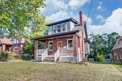 Hamilton County Single Family Home For Sale: 3450 Ridgewood Avenue