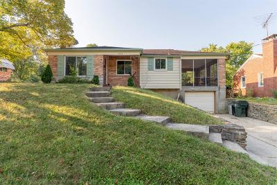 Hamilton County Single Family Home For Sale: 3849 Sharonview Drive