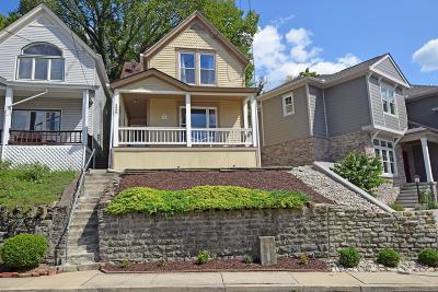 Cincinnati Single Family Home For Sale: 520 Hoge Street