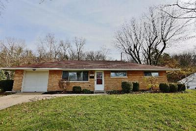 Miami Township OH Single Family Home Sold: $89,900