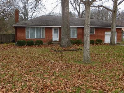 Clayton Single Family Home For Sale: 8179 Main Street