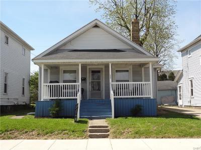 Dayton OH Single Family Home Active/Pending: $38,900