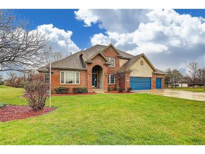 Clayton Single Family Home For Sale: 8630 Blue Teal Drive