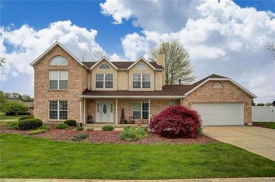 Enon Single Family Home For Sale: 4887 Fox Run