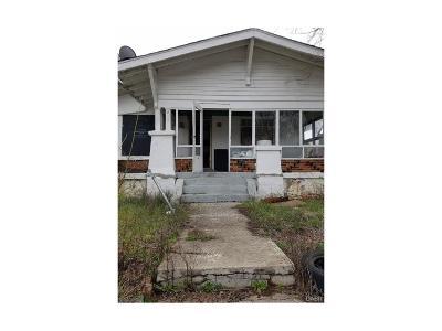 Dayton Single Family Home For Sale: 817 Upland Avenue