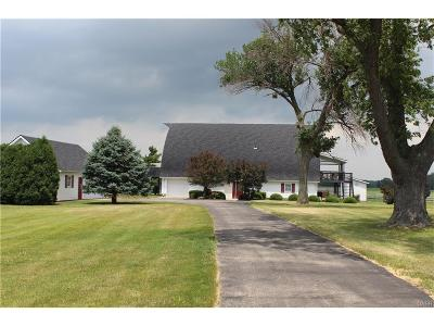 Tipp City Single Family Home Active/Pending: 2565 State Route 571