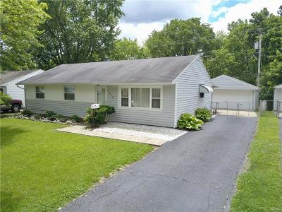 Dayton Single Family Home For Sale: 5408 Haverfield Road