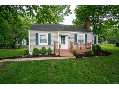 Beavercreek Single Family Home Active/Pending: 1338 Hanes Road