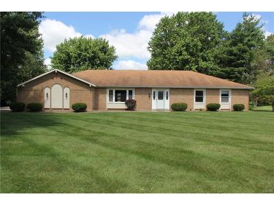 Tipp City Single Family Home Active/Pending: 5960 Allen Park Drive