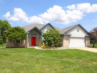 Bellbrook Single Family Home For Sale: 1393 Heritage Trace Court