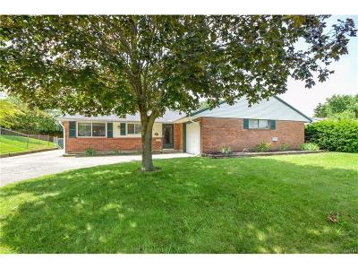 Huber Heights Single Family Home For Sale: 5876 Craftmore Drive