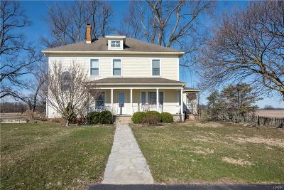 South Charleston Single Family Home Active/Pending: 7918 Plattsburg Road