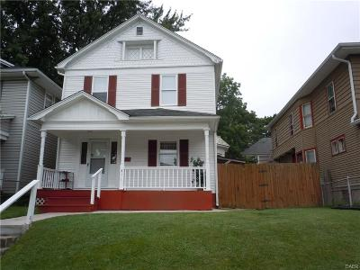Dayton OH Single Family Home For Sale: $54,900