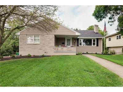 Tipp City Single Family Home For Sale: 535 Hyatt Street